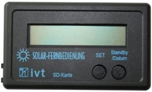 IVT Fernanzeige für MPPT Solarladeregler