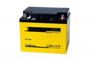 Bleiakkumulator SUN SB12-38i 38 Ah