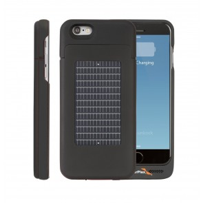 EnerPlex Surfr for iPhone 6 Solar & Battery Phone Case black