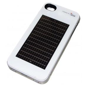 Enerplex Ascent Cas de charge solaire pour iPhone 4 / 4S blanc