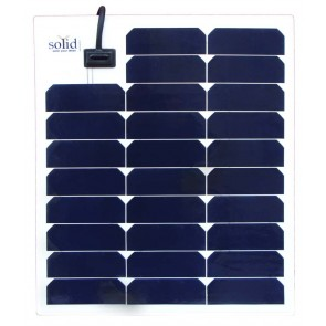 SolYid Rigid panel solar 12V - 30Wp