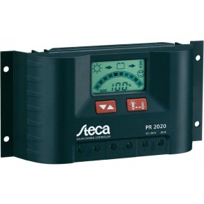 Steca PR 2020 Regulador de carga solar IP 20A
