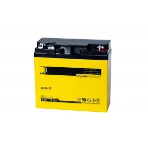 Batería de plomo-ácido SUN SB12-17