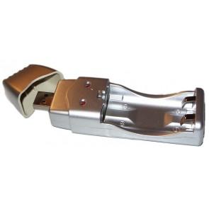 USB Ladegerät für 2 x AA / AAA NiMh-Akkus