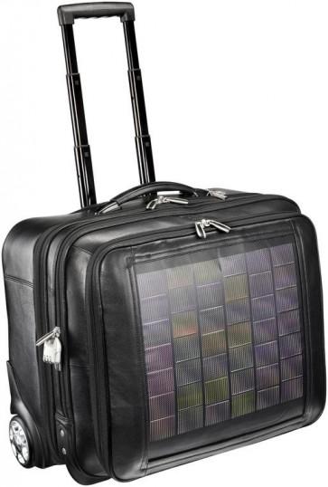 Caricabatterie solare Sunload Set EnerPlex Packr verde + M5